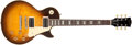 Musical Instruments:Electric Guitars, Recent Gibson Les Paul Classic Sunburst Solid Body Electric Guitar,#623. ...