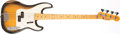 Musical Instruments:Bass Guitars, 1956 Fender Precision Bass Sunburst Solid Body Electric BassGuitar, #15619. ...
