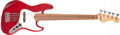 Musical Instruments:Bass Guitars, 1996 Fender Jazz Bass 5-String Candy Apple Red Solid Body Electric Bass Guitar, #N6106586. ...