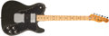 Musical Instruments:Electric Guitars, 1974 Fender Telecaster Custom Black Solid Body Electric Guitar, #571633. ...