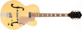 Musical Instruments:Electric Guitars, 1950s Gretsch Electromatic Ivory Hollow Body Electric Guitar,#20324. ...