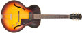 Musical Instruments:Electric Guitars, 1957 Gibson ES-125T Sunburst Semi-Hollow Body Electric Guitar,#U932925. ...