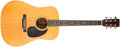 Musical Instruments:Acoustic Guitars, 1969 Martin D-28 Natural Acoustic Guitar, #246620....