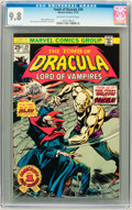 Bronze Age (1970-1979):Horror, Tomb of Dracula #39 (Marvel, 1975) CGC NM/MT 9.8 Off-white to whitepages....