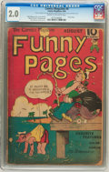 Platinum Age (1897-1937):Miscellaneous, The Comics Magazine #4 Funny Pages (Comics Magazine, 1936) CGC GD2.0 Cream to off-white pages....