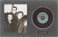 Music Memorabilia:Recordings, Buddy Holly Coral Record Display Group (1958-64).... (Total: 2Items)