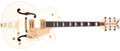 Musical Instruments:Electric Guitars, Recent Gretsch White Falcon White Semi-Hollow Body Electric Guitar,#995136-247. ...