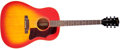 Musical Instruments:Acoustic Guitars, 1969 Gibson J-45ADJ Sunburst Acoustic Guitar, #809009. ...