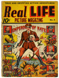 Golden Age (1938-1955):Non-Fiction, Real Life Comics #3 (Nedor Publications, 1942) Condition: GD/VG....