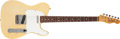 Musical Instruments:Electric Guitars, 1967 Fender Telecaster Blonde Solid Body Electric Guitar, #185720....