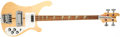 Musical Instruments:Bass Guitars, 1974 Rickenbacker 4001 Mapleglo Solid Body Electric Bass Guitar,#NG4737. ...