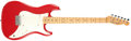 Musical Instruments:Electric Guitars, 1981 Fender Bullet Dakota Red Solid Body Electric Guitar,#E110650....