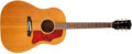 Musical Instruments:Acoustic Guitars, 1964 Gibson J-50 Natural Acoustic Guitar, #169663....