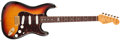Musical Instruments:Electric Guitars, 1997 Fender Stratocaster Sunburst Solid Body Electric Guitar, #0042of 1997. ...