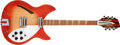 Musical Instruments:Electric Guitars, 1985 Rickenbacker 360/12 OS Fireglo Semi-Hollow Body ElectricGuitar, #YE0793. ...