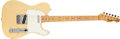 Musical Instruments:Electric Guitars, 1968 Fender Telecaster Blonde Solid Body Electric Guitar, #241987....