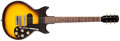 Musical Instruments:Electric Guitars, 1963 Gibson Melody Maker Sunburst Solid Body Electric Guitar,#138547. ...