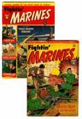 Golden Age (1938-1955):War, Fightin' Marines #1 and 2 Group (St. John, 1951).... (Total: 2Comic Books)