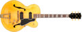 Musical Instruments:Electric Guitars, 1950 Gibson ES-350 Natural Hollow Body Electric Guitar, #418528....