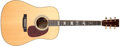 Musical Instruments:Acoustic Guitars, 1996 Martin HD-40 Marty Stuart Model Natural Acoustic Guitar,#585742. ...
