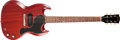 Musical Instruments:Electric Guitars, 1965 Gibson SG Jr. Cherry Solid Body Electric Guitar, #237181. ...