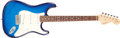 Musical Instruments:Electric Guitars, 1996 Fender Stratocaster Blueburst Solid Body Electric Guitar,#N6174495. ...