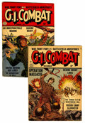 Golden Age (1938-1955):War, G.I. Combat #2 and 3 Group (Quality, 1952-53).... (Total: 2 ComicBooks)