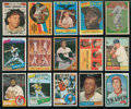 Baseball Cards:Lots, 1960's-1980's Baseball Hall of Famers Collection (69) ...