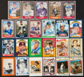 Autographs:Sports Cards, Baseball Legends Signed Cards Lot Of 19....