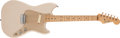 Musical Instruments:Electric Guitars, 1957 Fender Musicmaster Desert Sand Solid Body Electric Guitar, #17156. ...