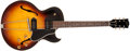 Musical Instruments:Electric Guitars, 1958 Gibson ES-225TD Sunburst Semi-Hollow Body Electric Guitar,#595434. ...
