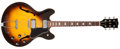 Musical Instruments:Electric Guitars, 1980 Gibson ES-335TD Sunburst Semi-Hollow Body Electric Guitar,#81570086. ...