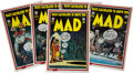 Memorabilia:MAD, Mad Cover Reproduction Poster Group (E. C. Publications,Inc./Stabur Graphics, Inc., 1985).... (Total: 5 Items)