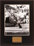 "Golf Collectibles:Autographs, Arnold Palmer Signed ""Upper Deck Authenticated"" OversizedPhotograph...."