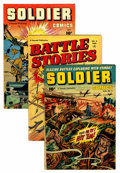 Golden Age (1938-1955):War, Fawcett War Group Group (Fawcett, 1952-53) Condition: AverageVG/FN.... (Total: 10 Comic Books)