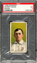 """Baseball Cards:Singles (Pre-1930), 1909-11 T206 Piedmont Sherry Magee """"MAGIE"""" PSA VG 3. ..."""