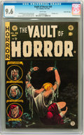 Golden Age (1938-1955):Horror, Vault of Horror #39 Gaines File Copy 8/12 (EC, 1954) CGC NM+ 9.6White pages....
