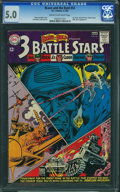 Silver Age (1956-1969):War, The Brave and the Bold #52 (DC, 1964) CGC VG/FN 5.0 Cream to off-white pages.