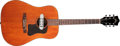 Musical Instruments:Acoustic Guitars, 1968 Guild D-25 Natural Acoustic Guitar, #OG183. ...
