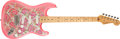 Musical Instruments:Electric Guitars, Modern Fender Japanese Stratocaster Paisley Solid Body ElectricGuitar, #P098546. ...