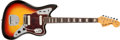 Musical Instruments:Electric Guitars, 1967 Fender Jaguar Sunburst Solid Body Electric Guitar, #193855. ...