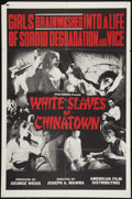 "Movie Posters:Exploitation, White Slaves of Chinatown (American Film Company, 1964). One Sheet(27"" X 41""). Exploitation.. ..."