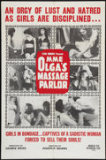 """Movie Posters:Adult, Mme. Olga's Massage Parlor Lot (American Film Company, 1965). One Sheets (2) (27"""" X 41""""). Adult.. ... (Total: 2 Items)"""