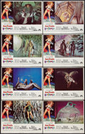 "Movie Posters:Science Fiction, Barbarella (Paramount, 1968). Lobby Card Set of 8 (11"" X 14"").Science Fiction.. ... (Total: 8 Items)"