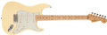 Musical Instruments:Electric Guitars, 2001 Fender Stratocaster Richie Sambora White Solid Body ElectricGuitar, #SZ 1132211....
