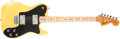 Musical Instruments:Electric Guitars, Mid 1970s Fender Telecaster Deluxe White Solid Body Electric Guitar, #558547. ...