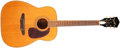 Musical Instruments:Acoustic Guitars, 1960s Harmony Sovereign Natural Acoustic Guitar, #5545H1260. ...