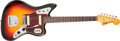Musical Instruments:Electric Guitars, 1962 Fender Jaguar Sunburst Solid Body Electric Guitar, #86798. ...