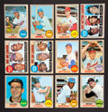 Baseball Cards:Sets, 1968 Topps Baseball Mid To High Grade Near Set (517/598). ...
