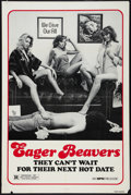 "Movie Posters:Sexploitation, The Swinging Barmaids (MPM, R-1980). One Sheet (27"" X 41"").Sexploitation.. ..."